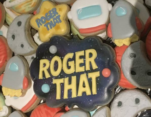 Roger That! sugar cookies